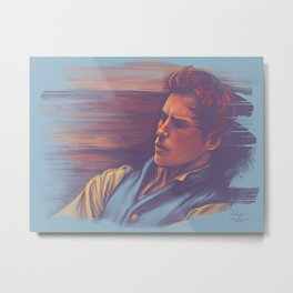 Marius at the barricades Metal Print