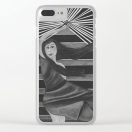 """""""Liberty In Truth"""" Clear iPhone Case"""