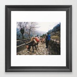 Nepal Framed Art Print