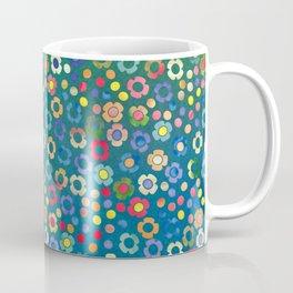 dp065-3 floral pattern Coffee Mug