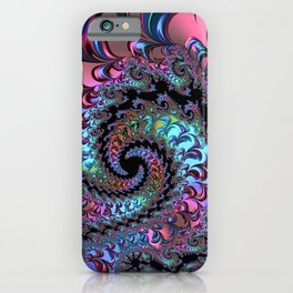 Metallic Fractal iPhone Case