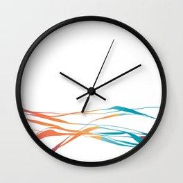 A Bottomless Sea No. 2 Caribbean Wall Clock