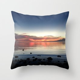 End of Day 2 Throw Pillow