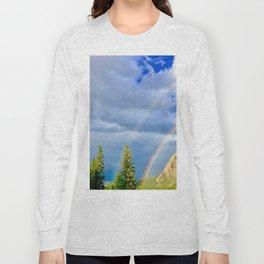 Canadian Rocky Rainbow Long Sleeve T-shirt