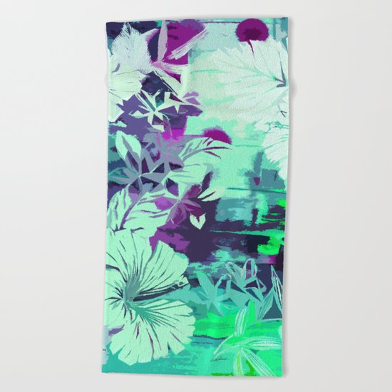 Hula Traffic Beach Towel