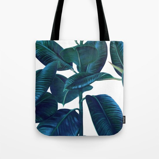 Luna Leaves Tote Bag
