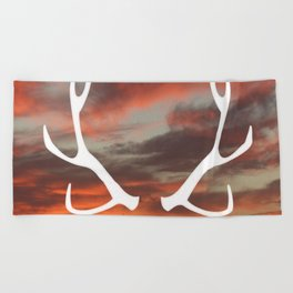 The stag of the North Beach Towel