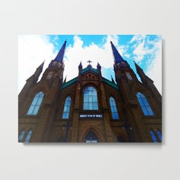 Holy Door Metal Print
