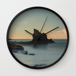 Long Exposure Landscape Wall Clock