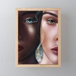 Spirit Eyes Framed Mini Art Print