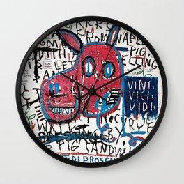 Jean Michel Basquiat. El hombre de Nápoles. Wall Clock