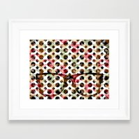 glasses Framed Art Prints featuring Glasses by Mr and Mrs Quirynen