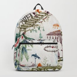 Enchanted Forest Chinoiserie Backpack