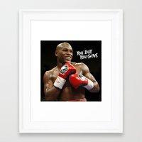 floyd Framed Art Prints featuring Floyd #1 by YBYG