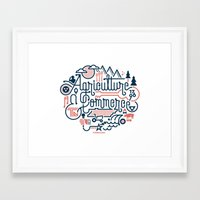 tennessee Framed Art Prints featuring Tennessee by Matt Lehman
