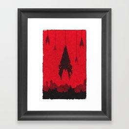 Mass Effect - Reapers Framed Art Print