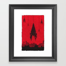 Mass Effect - Reapers Framed Art Print