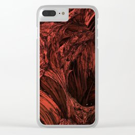 Hotter than hell Clear iPhone Case