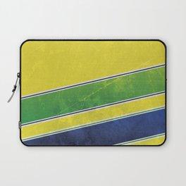 Ayrton Senna - I have no idols Laptop Sleeve