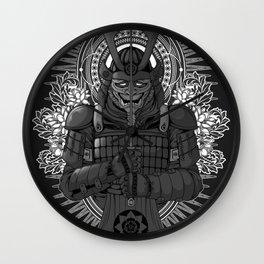Last Samurai Wall Clock