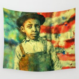 Face of Greatness Wall Tapestry