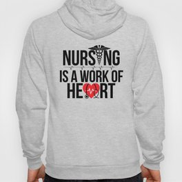 Nurse Work of Heart Hoody