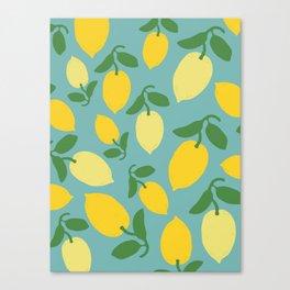 Le Citron Canvas Print