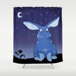 Bunny Blues Shower Curtain