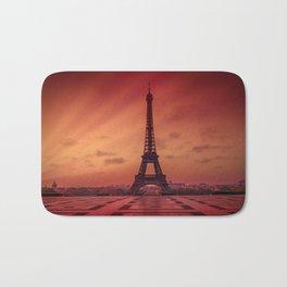 Eiffel Tower at Sunrise Bath Mat