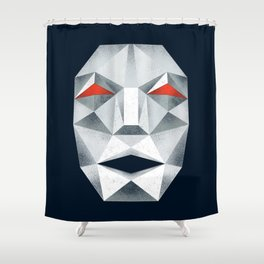 Star Fox Andross Lylat Lowpoly Laugher Shower Curtain