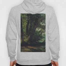 Landscape With Lake 1859 By Lev Lagorio   Reproduction   Russian Romanticism Painter Hoody