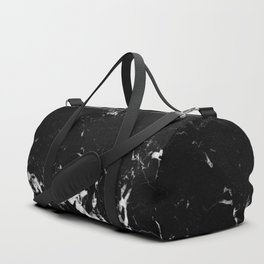 Black Marble #8 #decor #art #society6 Duffle Bag