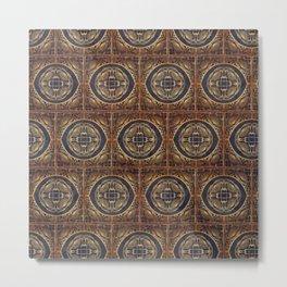 Grecian Bath House Tiles  Metal Print