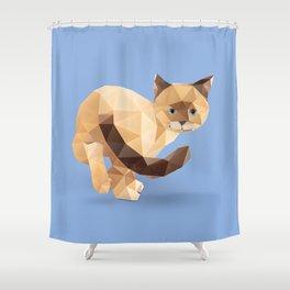 Balinese Cat Shower Curtain