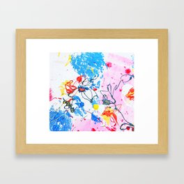 love remember mother grandmother Framed Art Print