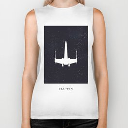 Phonetic Wing Biker Tank