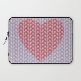 Heart Overload Valentine Issues Laptop Sleeve