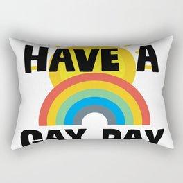 Have A Gay Day Rectangular Pillow