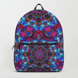 Fractal Floral Abstract G86 Backpack