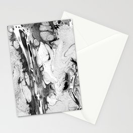 Handmade marble texture Stationery Cards