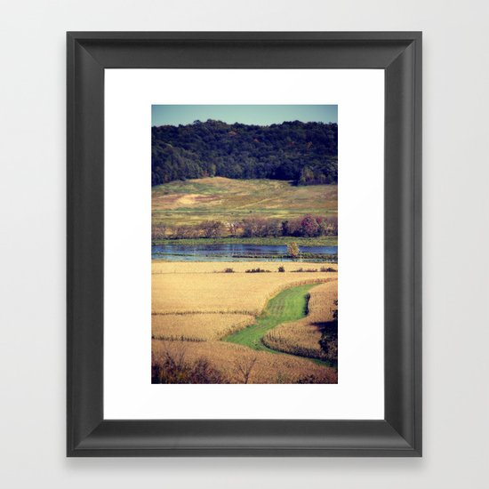 Picture Book Framed Art Print