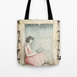 The Book Lover Tote Bag