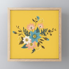 Flowers Framed Mini Art Print