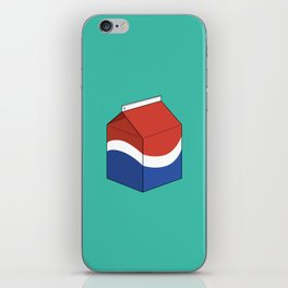 Pepsi in a box iPhone Skin