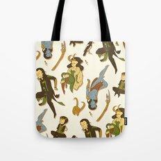 All the Lokis Tote Bag