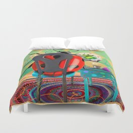You Found Your Stitchy Bug Duvet Cover