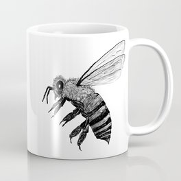 Amos Fortune Bee Coffee Mug
