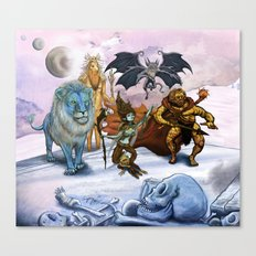 Glaar and The Floating Kingdom Canvas Print