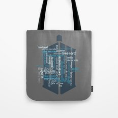 Doctor Who: Friends and Enemies Tote Bag
