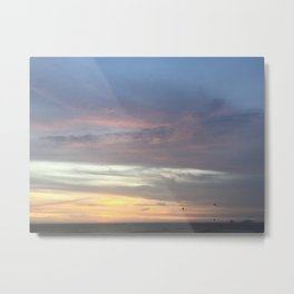 A sky of blue Metal Print
